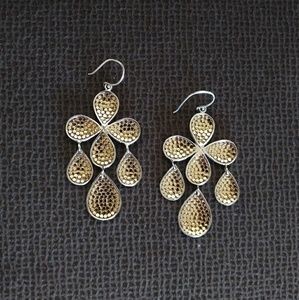 Anna Beck Clover Dangle Earrings - Gently Used